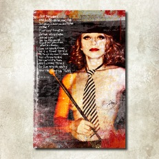 """""""Femme Fatale – Hommage à Nico et Lou Reed"""" © Monica Maria Seksich (2011-2016)."""