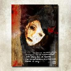 """""""La Femme au Coeur perdu"""" © Monica Maria Seksich (2012-2016)."""