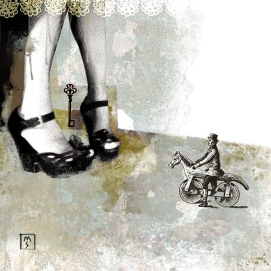 """Aphrodite aspetta Barbablù"" © Monica Maria Seksich"