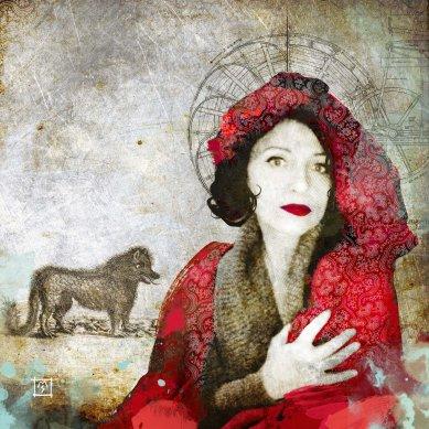 """""""Cappuccetto Rosso e la bestia del Givaudan"""" © Monica Maria Seksich"""